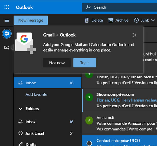 Ms se alista a incorporar Gmail, Calendario, Drive y documentos de Google en Office